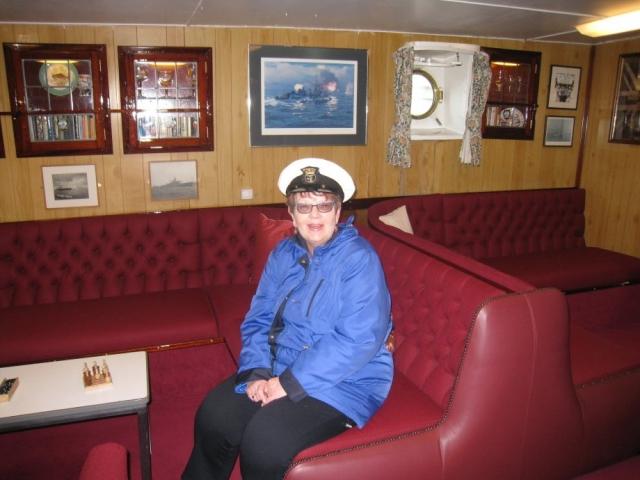 HMY Britannia First Lieutenant Rose