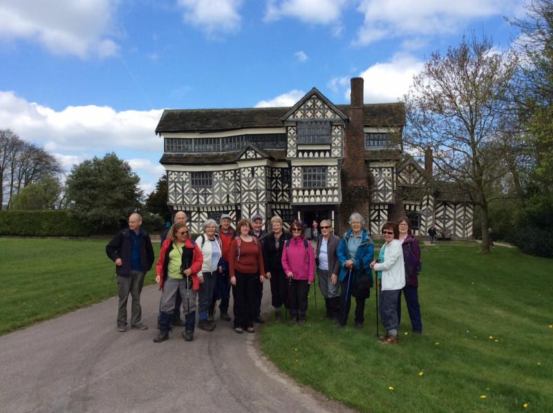 Little Moreton Hall Walk April 2017