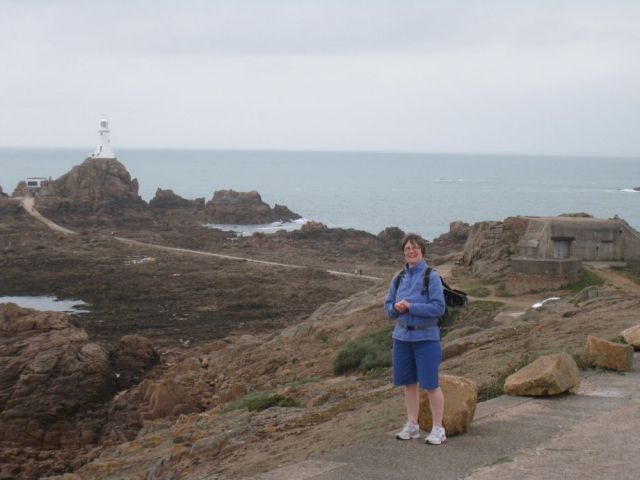 Gillian at La Corbiere Jersey